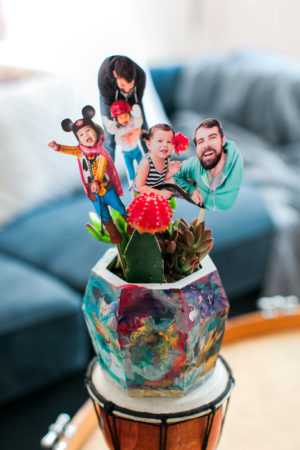 Father's Day DIY Succulent Planter