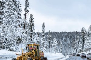 snow-plough-on-forest-road