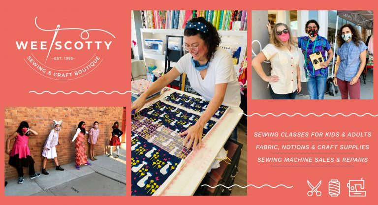 Introducing Wee Scotty Sewing & Craft Boutique: Your new downtown source for creativity